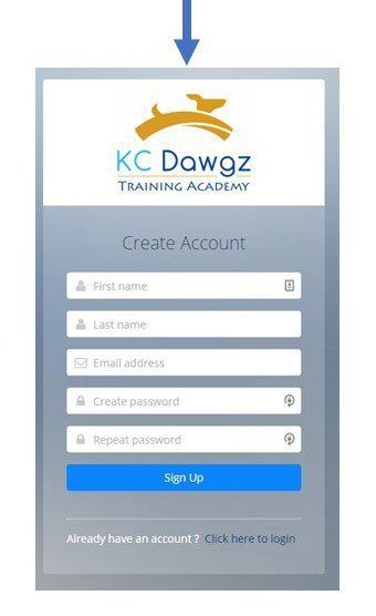 Create a free Account at KC Dawgz